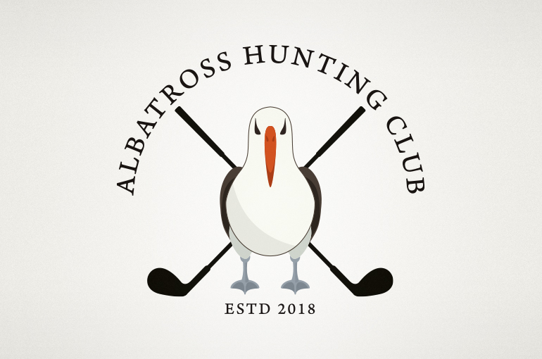Albatross Hunting Club Logo