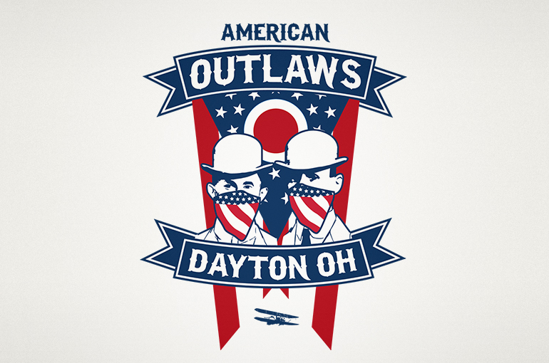 American Outlaws Dayton Logo