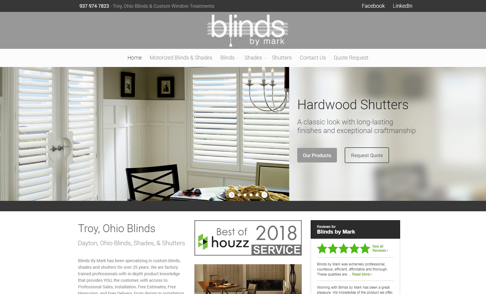 Blinds By Mark