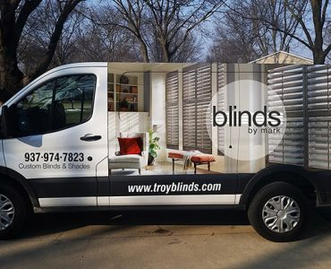 Blinds By Mark Vehicle Wrap
