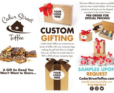 Cedar Street Toffee - Tri-Fold Brochure