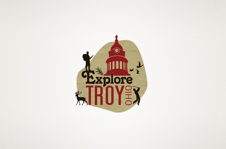 Explore Troy Ohio Logo