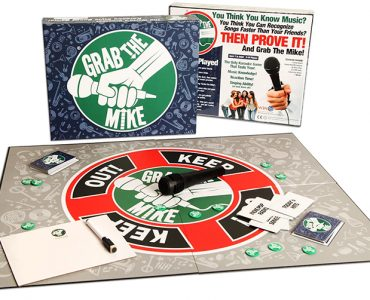 Grab The Mike Board Game Design