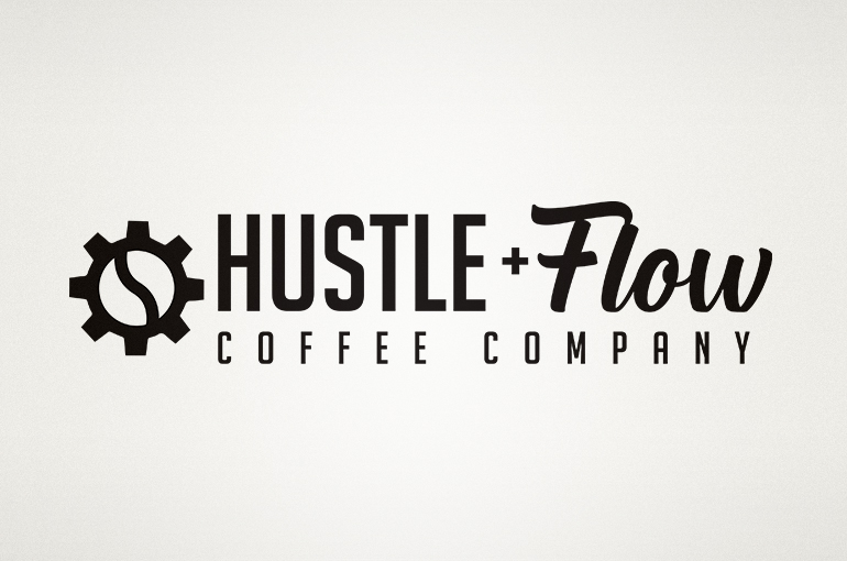 Hustle & Flow Coffee Company Logo