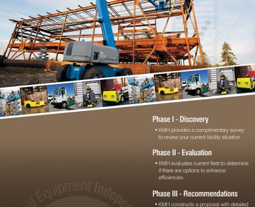 KMH Industrial Equipment Flyer