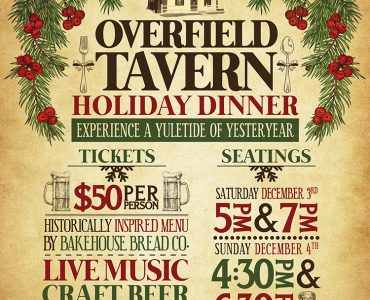 Overfield Tavern Troy Ohio Poster