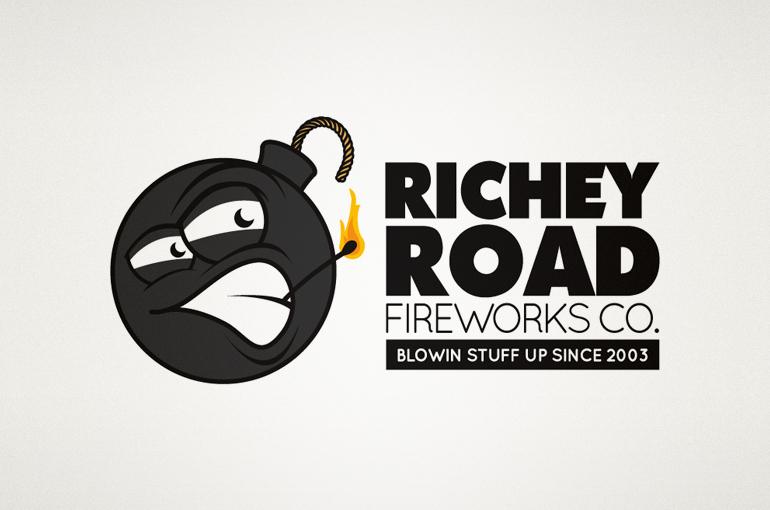 Richey Road Fireworks Logo