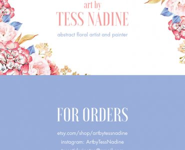 Tess Nadine - Business Card