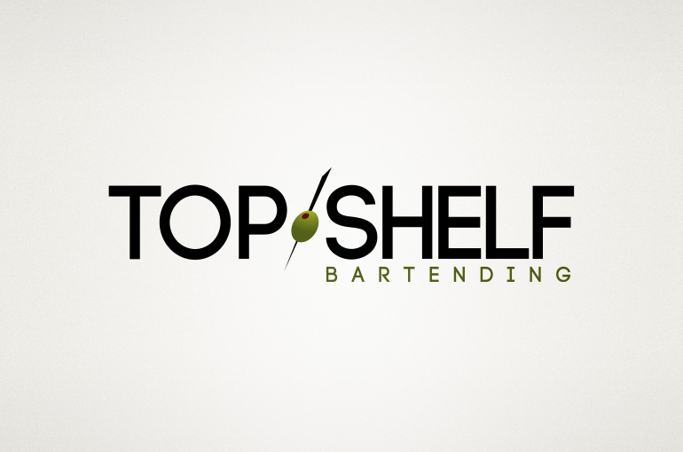 Top Shelf Bartending Logo
